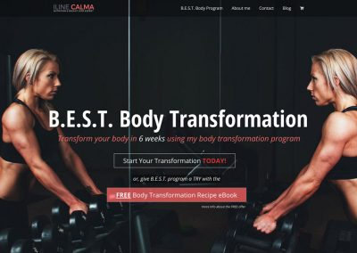 Fitness & Nutrition Coach Membership Website