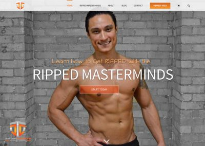 Personal Trainer  / Fitness & Life Coach website
